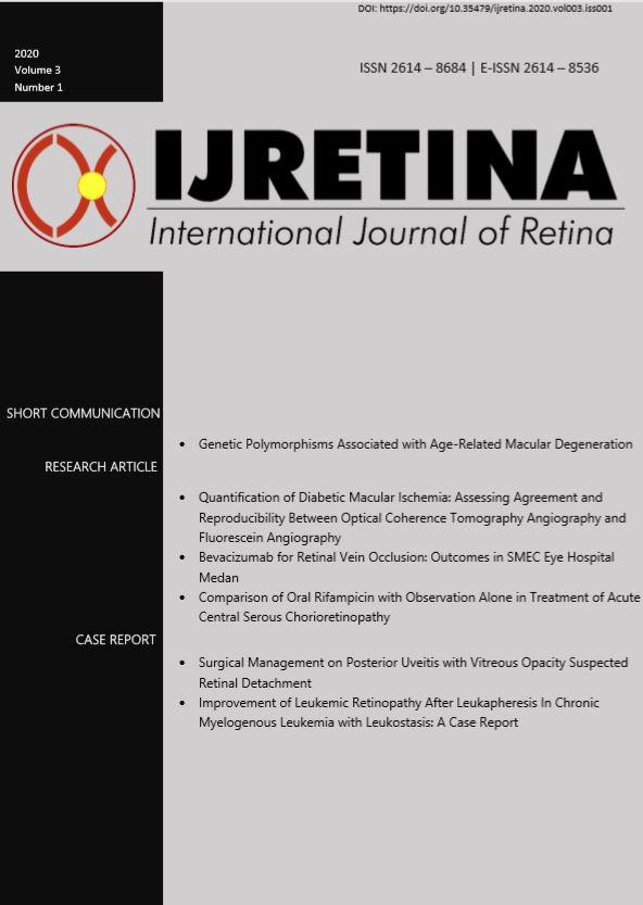 Ijretina volume 3 no 1